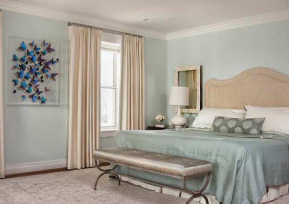 Phong thủy cho rèm cửa phòng ngủ