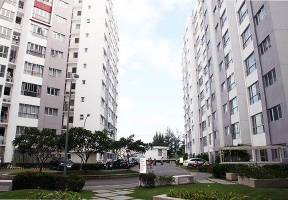Rèm cửa Roman chung cư Celadon quận Tân Phú