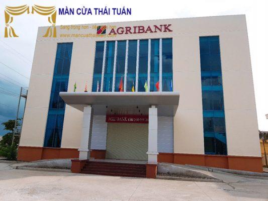 Thi công rèm vải ngân hàng Agribank Cần Thơ