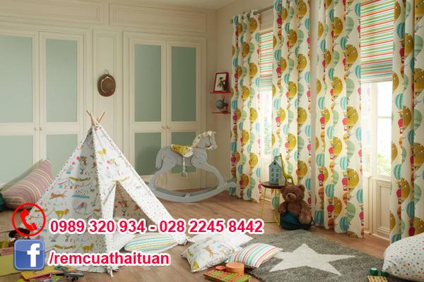 Bí quyết chọn rèm phòng ngủ cho bé theo tính cách