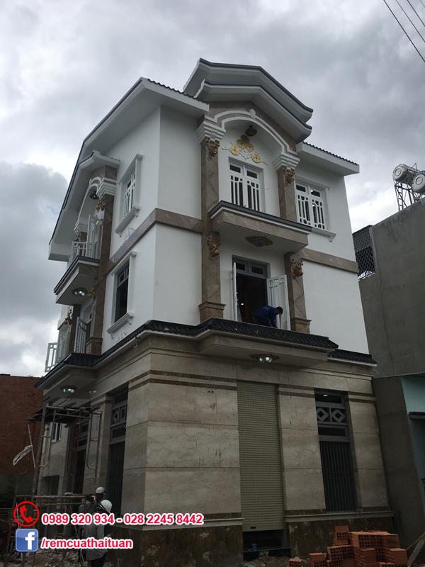 Lắp đặt thi công rèm cửa nhà anh Thế Anh ở Bình Tân