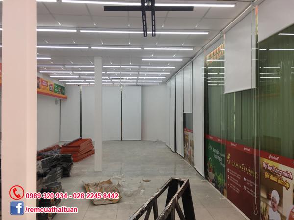 Công trình màn cuốn Vinmart Quang Trung quận Gò Vấp