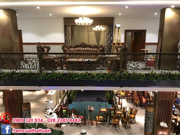 Công trình rèm cửa nhà anh Tuấn đường Vườn Lài quận Tân Phú