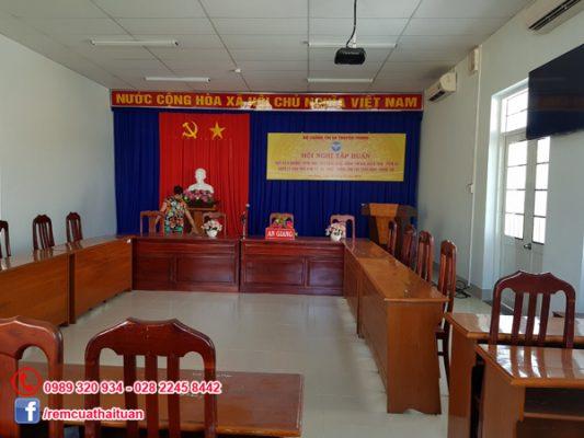 Công trình rèm cửa Sở Thông tin và Truyền thông tỉnh An Giang