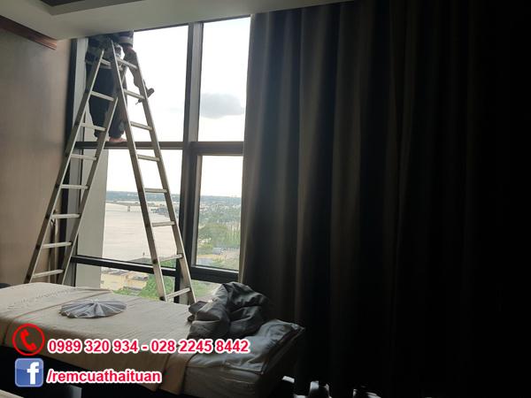 Trang trí màn cửa phòng spa massage và khách sạn ở Cần Thơ