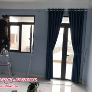 Thi công màn cửa nhà chị Hà ở quận Bình Tân