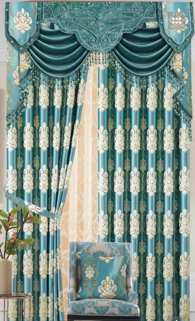 Rèm vải gấm TT07