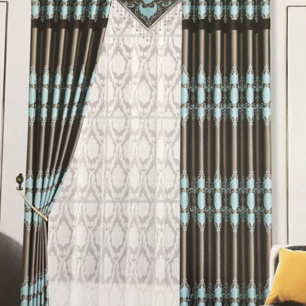 Rèm vải gấm TT17