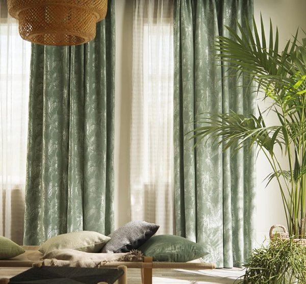 Rèm vải Nhật cao cấp RCC10