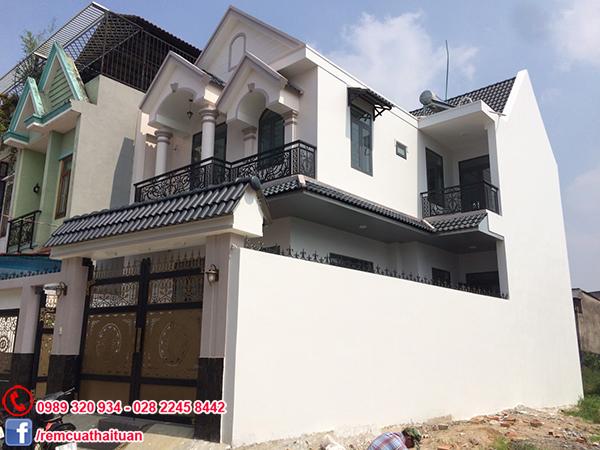 Công trình rèm cửa tại huyện Bình Chánh