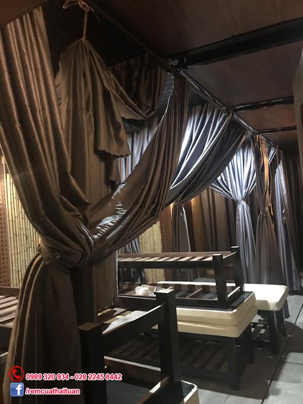 Lắp rèm spa ở đường Đề Thám quận 1