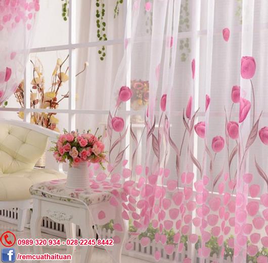 Rèm vải voan phòng ngủ