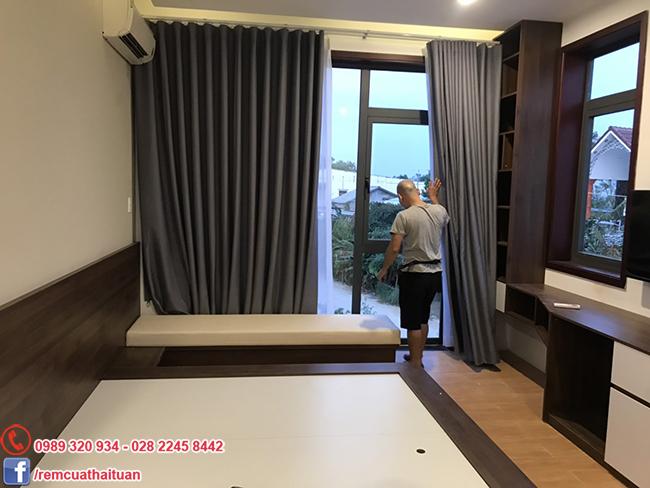 Thi công rèm cửa biệt thự tại Tp Đà Nẵng