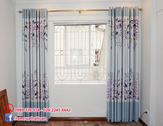 Mẫu màn rèm phòng ngủ2 lớp