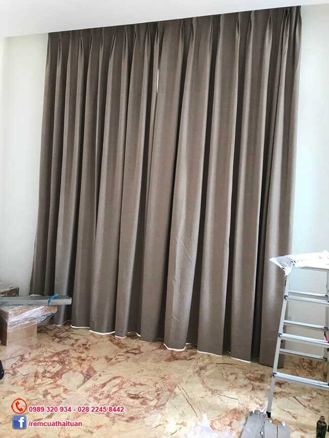 Rèm vải cao su 3 lớp chống nắng, chống tia UV tuyệt đối