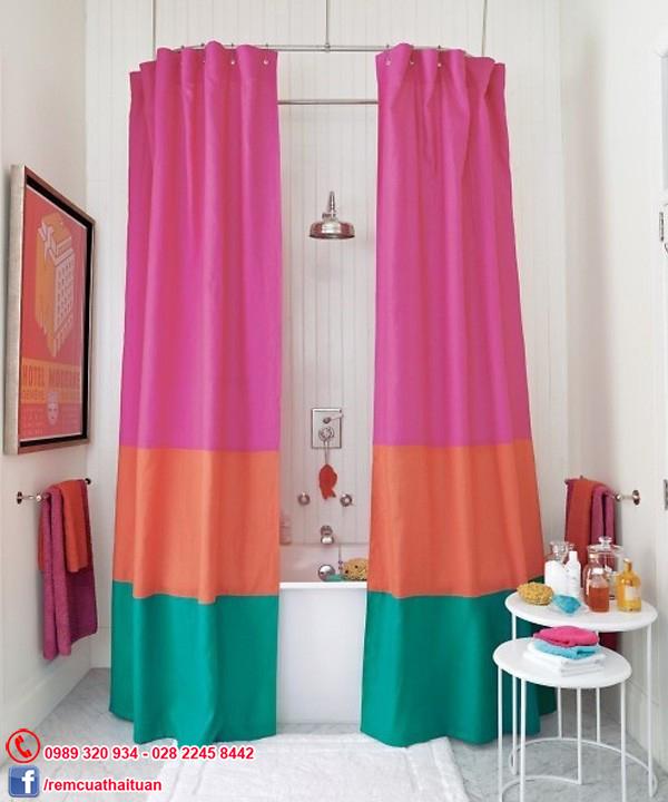 rèm phòng tắm không thấm nước