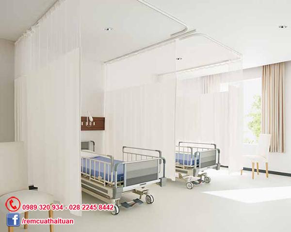Rèm che y tế cho phòng khám bệnh viện